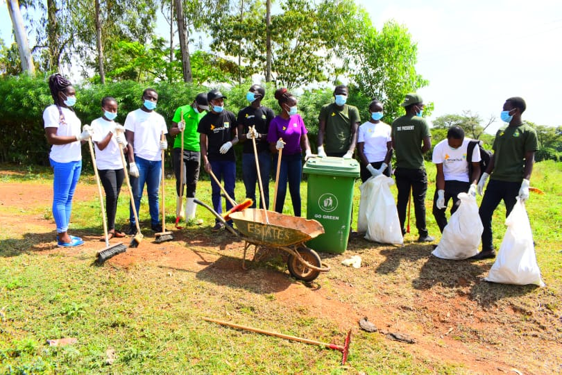 Waste collection in Bondo town