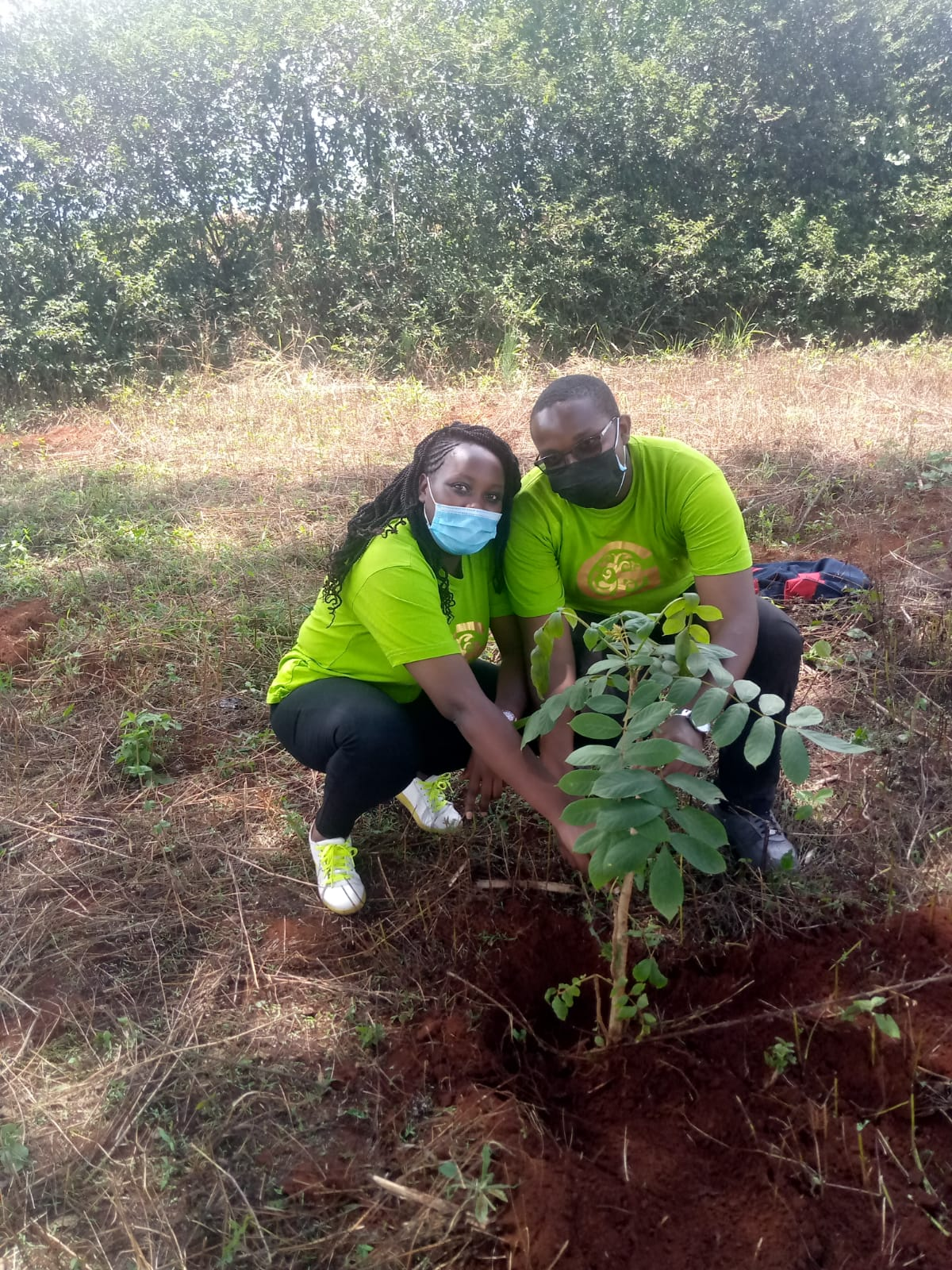 Worlds water day at the Nyeri Water and Sanitation Company (NyeWaSCo) with Go Green hub CEO
