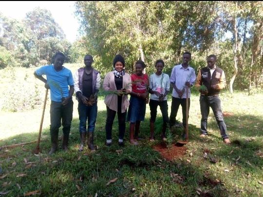 #Planting treesi