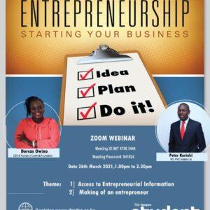 Youth Enterprenueship Poster